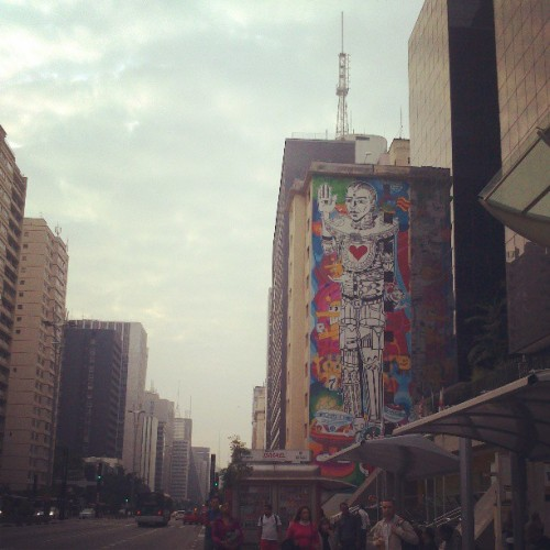 19. My favourite view #fmsphotoaday (em Avenida Paulista)