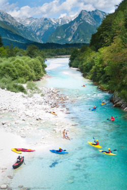 nosens:  Kayak in Bovec (by rmaltete)