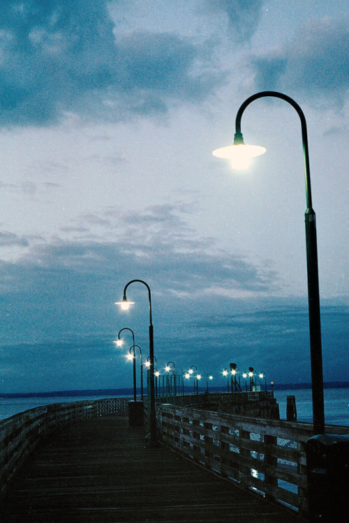metronudes:  the pier at sunrise (by jessieroth)