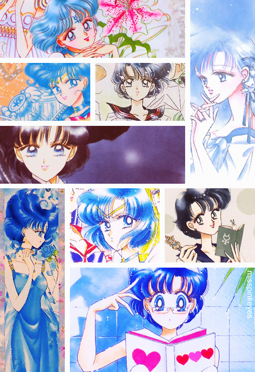 Sailor Mercury - Ami Mizuno