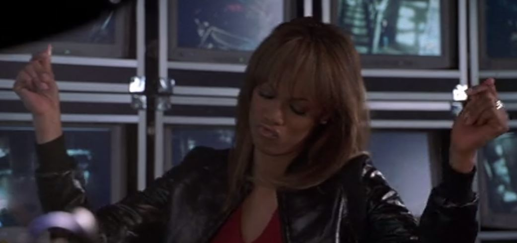 Tyra Banks as Nora in HALLOWEEN RESURRECTION \u2013 2002 Source http//