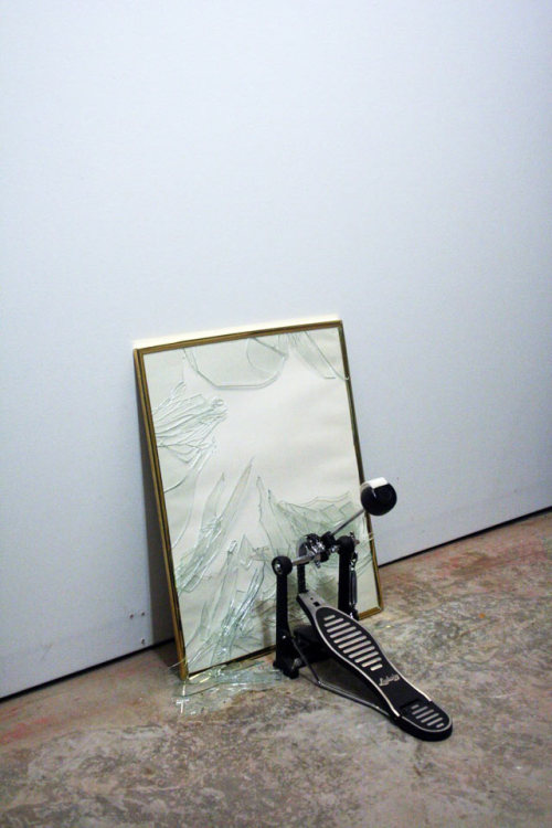 arpeggia:  Ben Schumacher - Untitled, 2009  I see this and I think of the Stone Cold Steve Austin theme song. http://www.youtube.com/watch?v=_cQQzLQqYTQ
