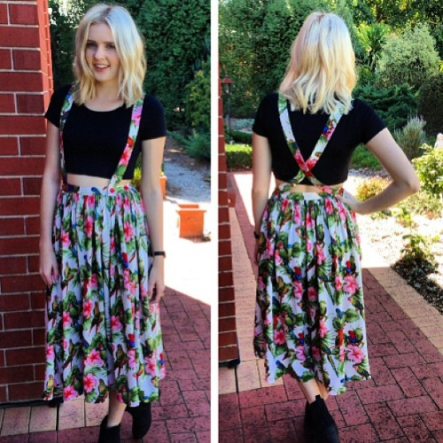 Bird Midi Skirt 🌞#sunsout #style #fashion #birdies