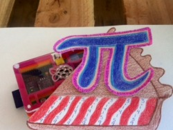 Make sure you have a slice of pi today. A HAPPY INT'L PI DAY to all, lets celebrate the discovery of the lovely ratio between a circle's circumference and its diameter.