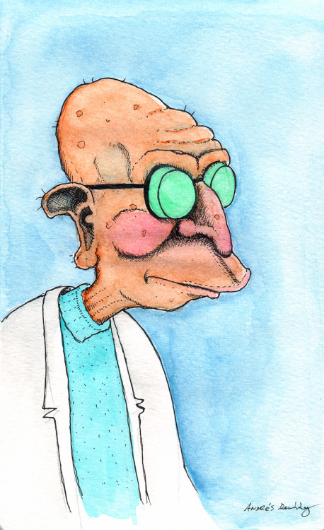 Professor Farnsworth for #DrawFuturama