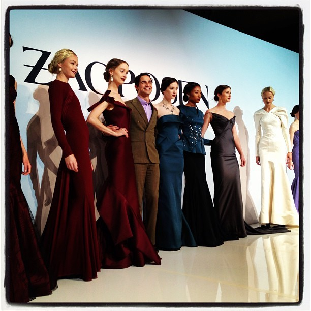 Oh @zacposen your fall collection is amazing!