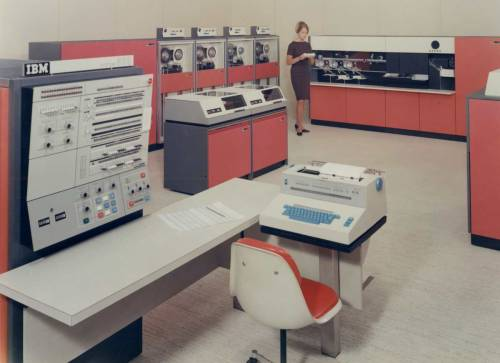 IBM 360 - 1964 Computing History Displays