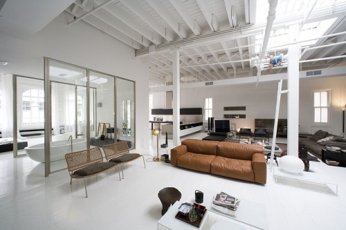 leekravitz:  Dream Loft.  Nice loft. Wife needs to be comfortable walking around naked.
