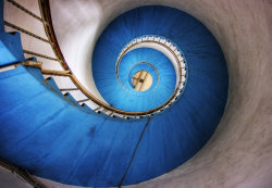 azuhr:  Blue Stairs by Initio