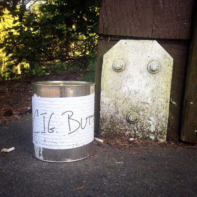 P365x52-128: Cig butts on Flickr.