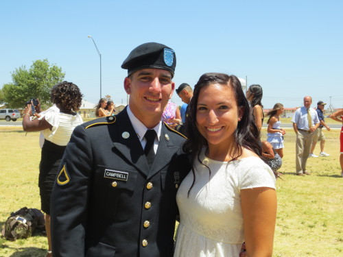 My boyfriend and I at his graduation
