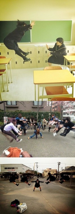 (via Japanese Students Fight Dragon Ball Style!)