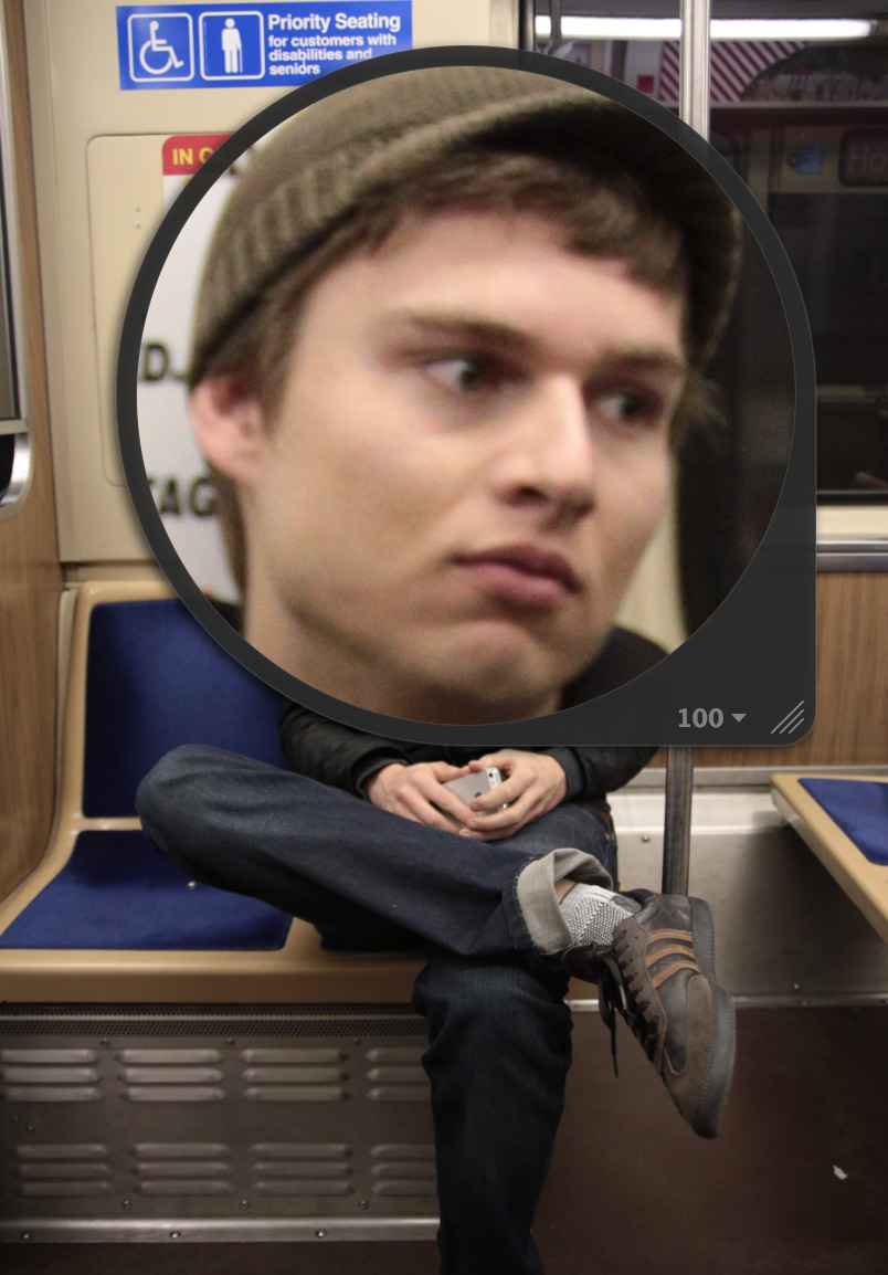 EMO JASON RIDES THE RAILS