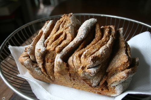 veganfoody:  Sweet Potato Pull-Apart Bread