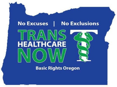 Just announced! Oregon residents who are transgender, your health is now protected and you will no longer be discriminated against by health insurance companies. Read the details here. (On a side note: I do not know if this will also include coverage of lower surgeries.) If you live in Oregon, I suggest reading the COMPLETE bulletin here. -Ryan