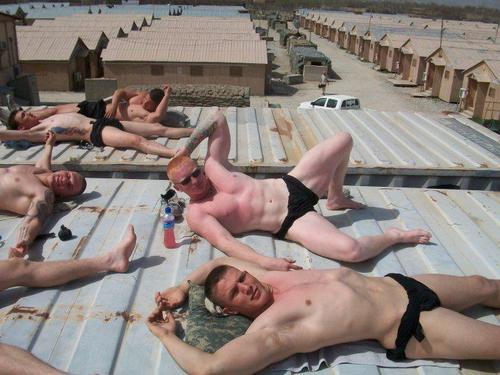 gotta love our fighting boys, still making time for getting their tan on…     topher ;)  BestOfBromance.tumblr.com - @BestOfBromance - BestOfBromance@gmail.com