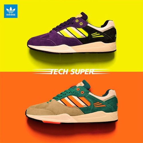 sizeofficial:  BLOG! adidas Originals Tech Super - size? UK exclusive.. #size #adidas #originals #tech #super #techsuper #blog #exclusive #sizehq (at www.sizestores.co.uk/hq)