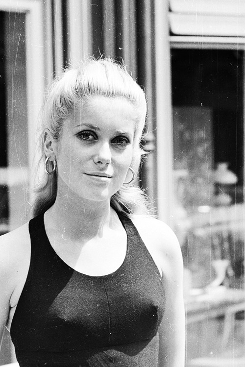 Catherine Deneuve, June 1965. Photo by Larry Ellis