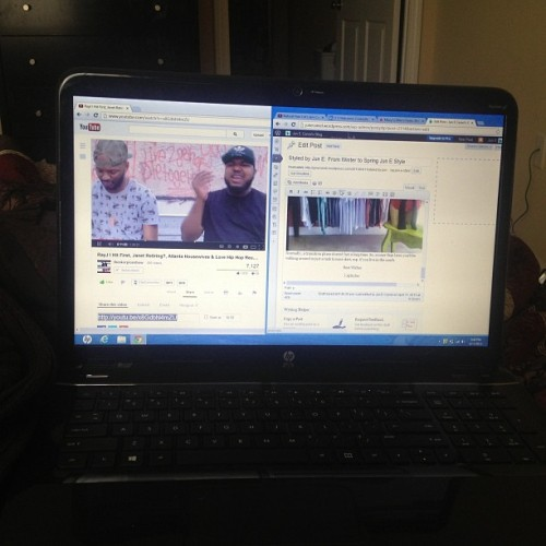 "Blogging while watching The Skorpion Show ""Brandy come get your brother!"" -@makael86 😹 I love these guys. Find them on YouTube! @theskorpion #theskorpionshow #youtubers #bloggers #ent #wordpress"