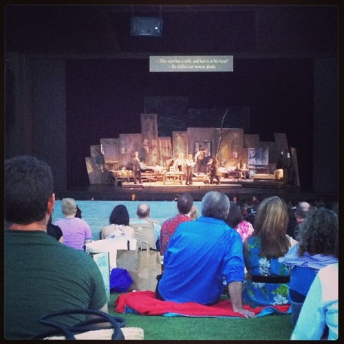 Outdoor opera. Whee (at Miller Outdoor Theatre)