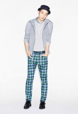 Sung Jin Park for 13 Spring Uniqlo campaign