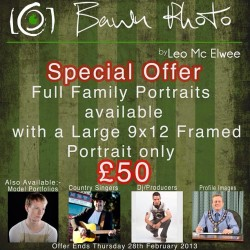 Check it out folks.. New offer for 2013 #bawnphoto #Familyportraits #candid #yourwayoflife #ulsterphotographer