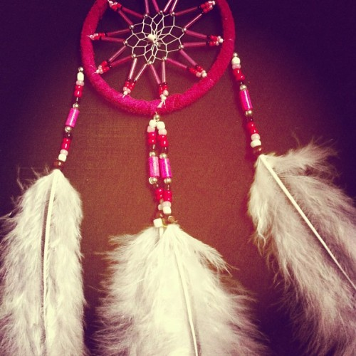 love this #dreamcatcher I just bought #nativeamerican #culture #feather #indian
