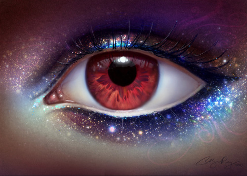 artmonia:  The Eye of the Universe by Adelenta