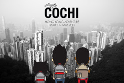 Join COCHI on our adventure to Hong Kong between March and May! To get in on the action visit cochiclothing.com/blog