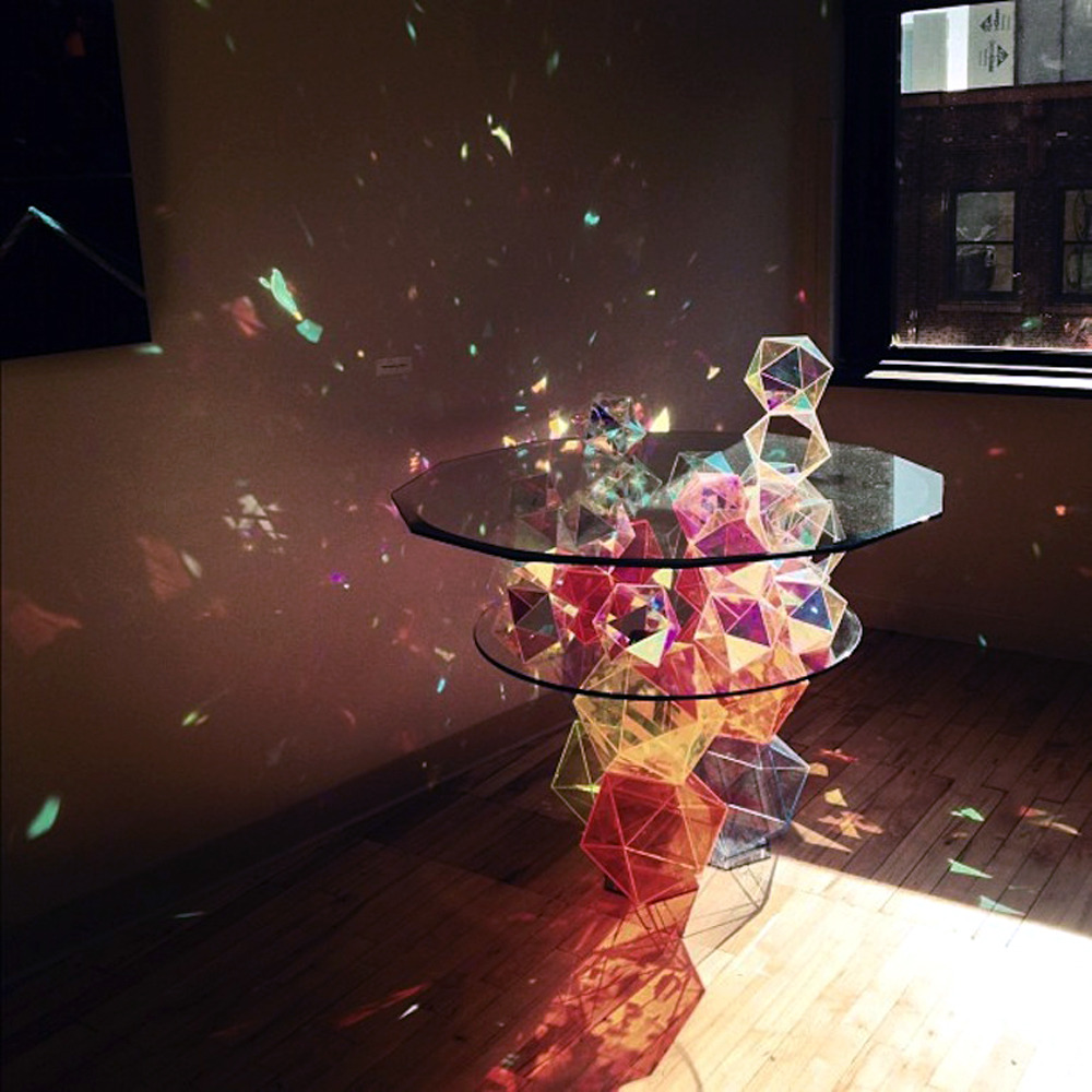 likeafieldmouse:  John Foster - Sparkle Palace Cocktail Table (2012)