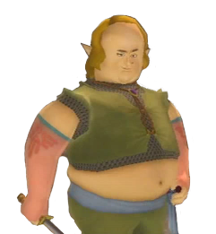 Peater from Skyward Sword has to be one of my favorite side characters designs.