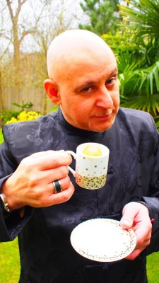 A DR M Bongiorno & Lavazza Toast to you One & All! Happy Thursday!