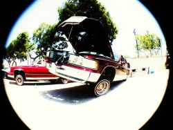 Cadillac Fest 3 wheel motion  shot with Mobi-Lens Fisheye lens + iPhone 5  Get your Mobi-Lens today