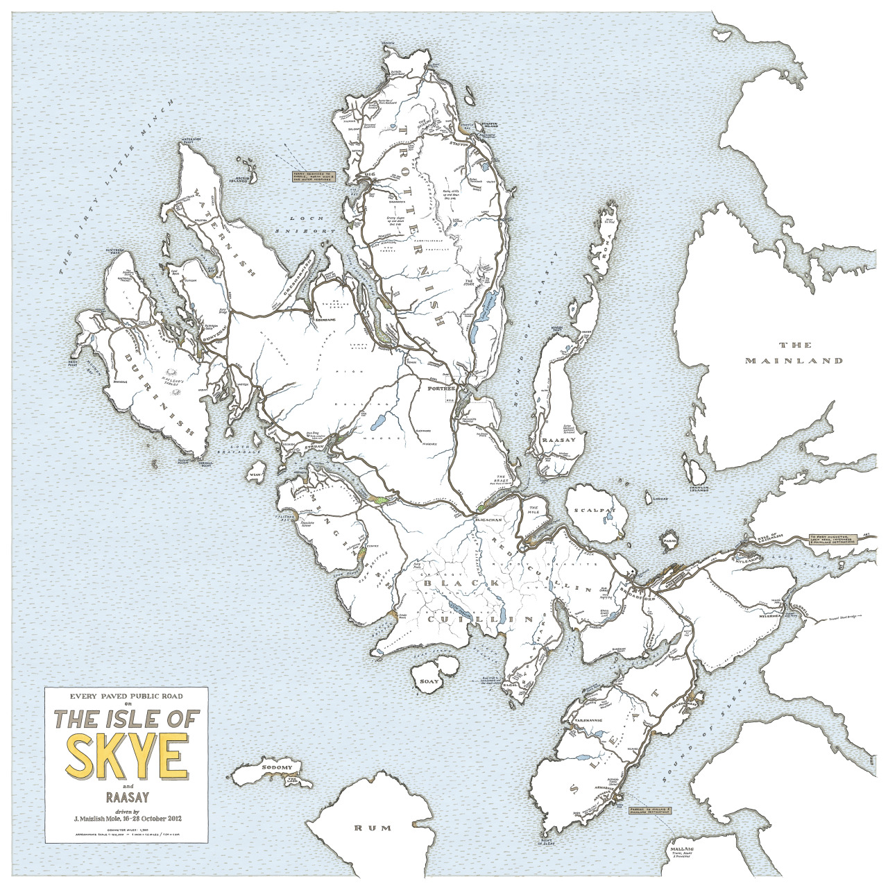 Memory mapping the Isle of Skye