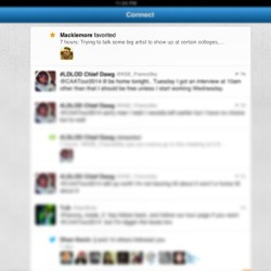 #Macklemore def favorited my tweet #iwanttoperformwithhim