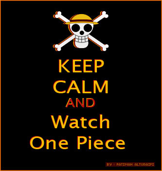 my design  #one_piece #keep_calm