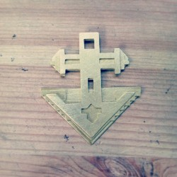 In the works… #jewelry #brass #geometric #iswasandwillbe #forthejourney