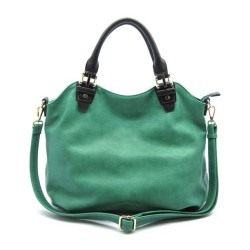 We love our Normandy in green this season | trending #mimiboutique #fashion #tote #handbag