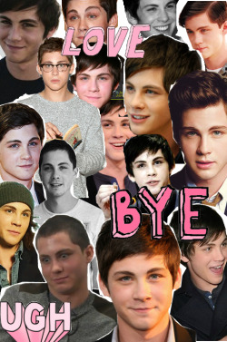 troy-to-my-gabriella:  Logan Lerman collage