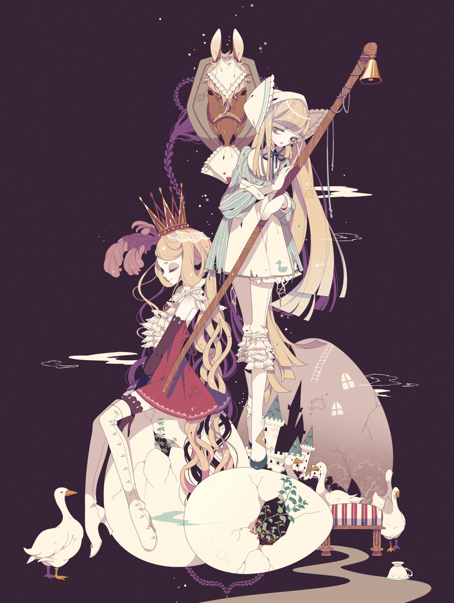 "fairytalemood:  ""Doppel"" by しきみ"