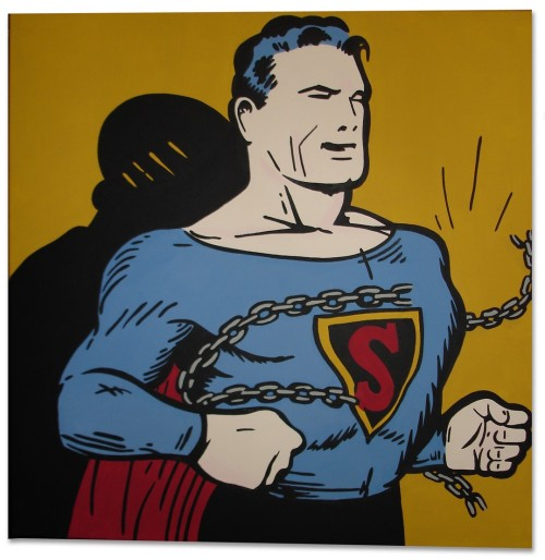 arcaneimages:  75 years ago today, Jerry Siegel and Joe Shuster created Superman.