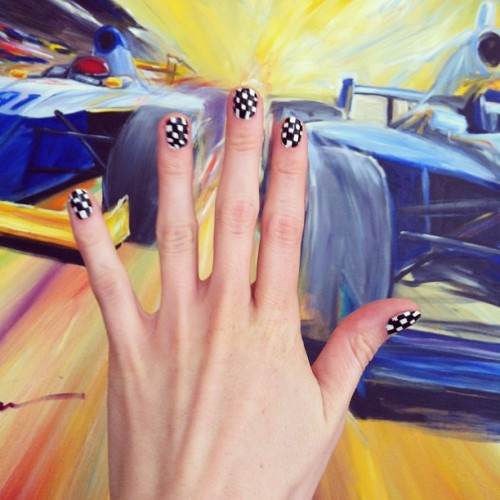 Want Indy 500 inspired nails for race weekend? I'll show you how next week @indystar!