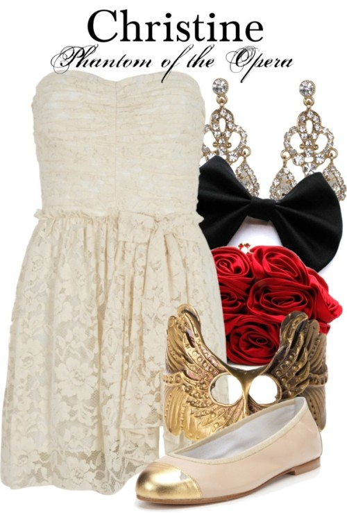thebroadwaywardrobe:   Christine - Phantom of the Opera