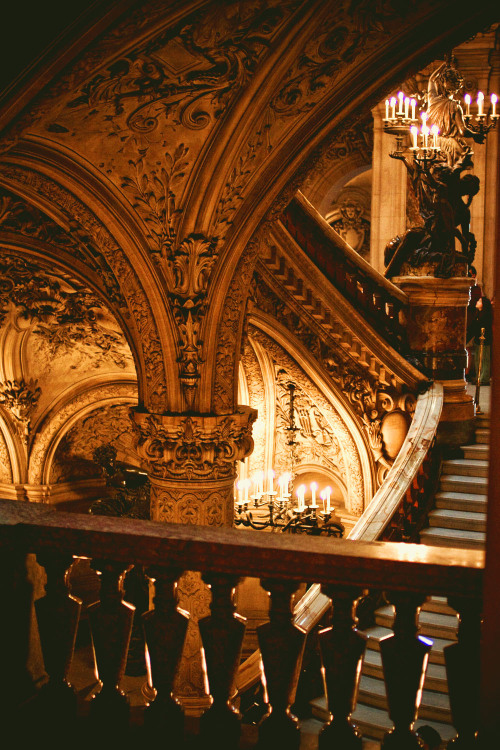 ancient-serpent:  Opéra Garnier, Paris (via)