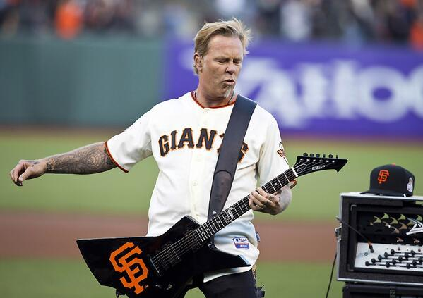 Metallica - Nothing else Matters: @Metallica rocked the national anthem at AT&T Park and it was fant