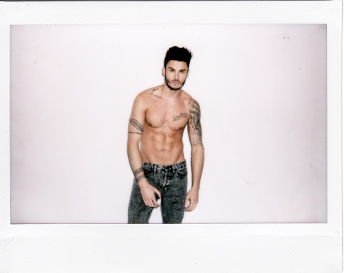 polaroidwillneverdie:  a little polaroid with Baptiste Giabiconi my page : https://www.facebook.com/franckgomezphotographie