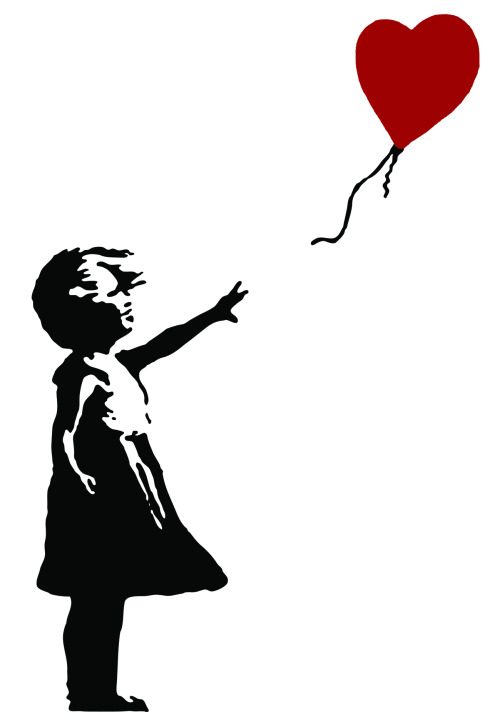 "*art by Banksy* The RAPtivism theme for this year's Valentine's Day is ""love thyself"" — an important part of healing & growth. I hope the songs in this #RAPtivism playlist serve as reiki to the soul… Giving you courage to keep strong & carry on! ♥♥ ""Special,"" Lowkey  ""You Say,"" Brother Ali  ""Is Your Love Big Enough?"" Lianne La Havas"