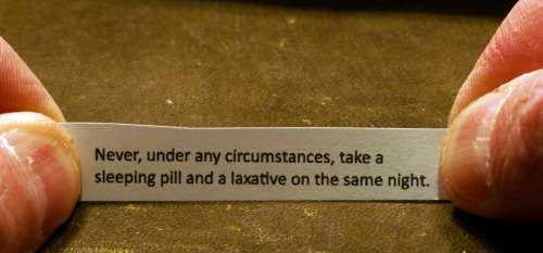 Fortune Cookie photograph by 1ManWithACamera :: via mossboss