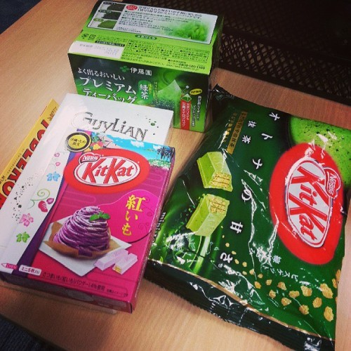 Goodies from Japan!! #pasalubong