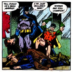 - Batman 437 Dick's the champion!